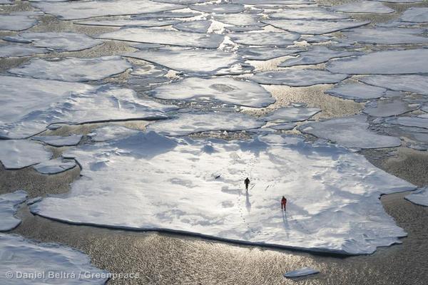 Ice Floe in the Arctic