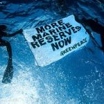 Greenpeace Activists for Marin Reserves in the Pacific Ocean