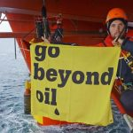 Stena Don Oil Rig Occupation in the Arctic