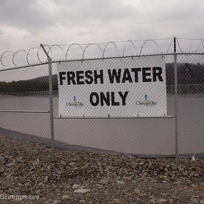 Water use for fracking