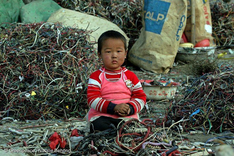 Toxic E-Waste Documentation in China