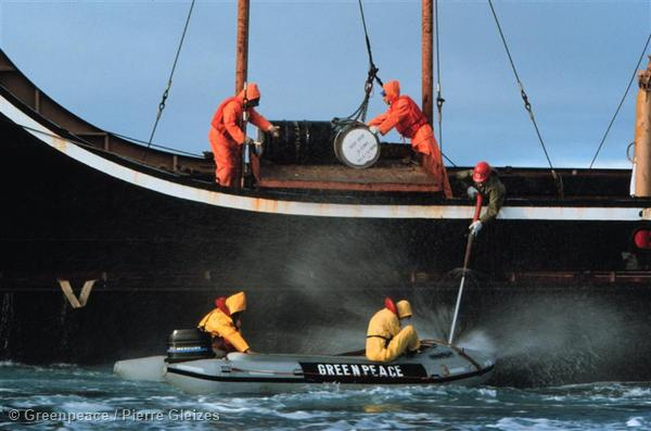 A Ban On Dumping Radioactive Waste At Sea Greenpeace Usa
