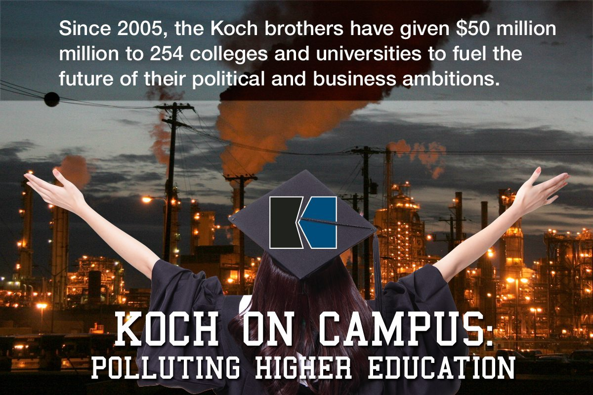 Academic Pollution: Greenpeace Traces Koch Money on Campus