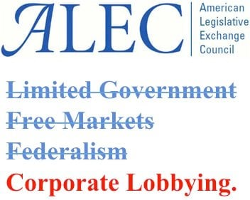 ALEC Doesn't Care About #FreeMarkets - Explaining ALEC's Shill Bills - Greenpeace USA