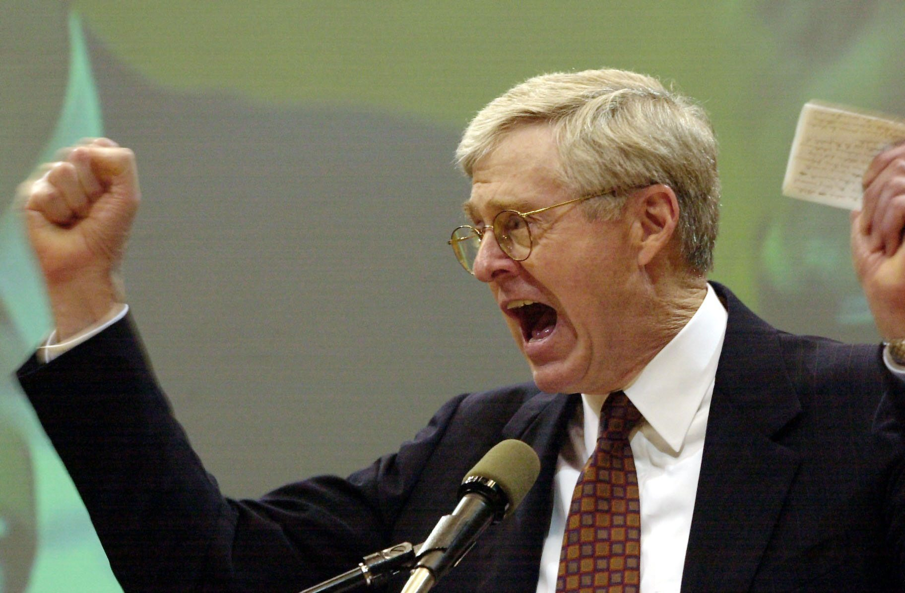 Charles g koch greenpeace usa for David charles koch