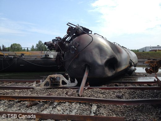 PHOTOS: Train carrying crude oil explodes in Quebec, 40 missing, 5 dead