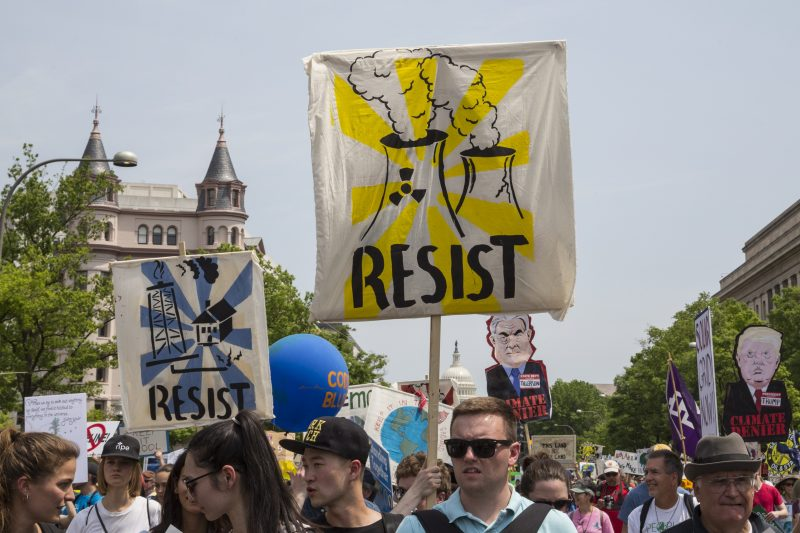 RESIST at the Peoples Climate March