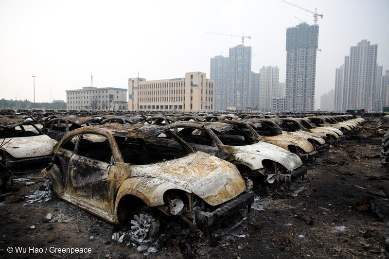 Tianjin, China, Chemical Explosion