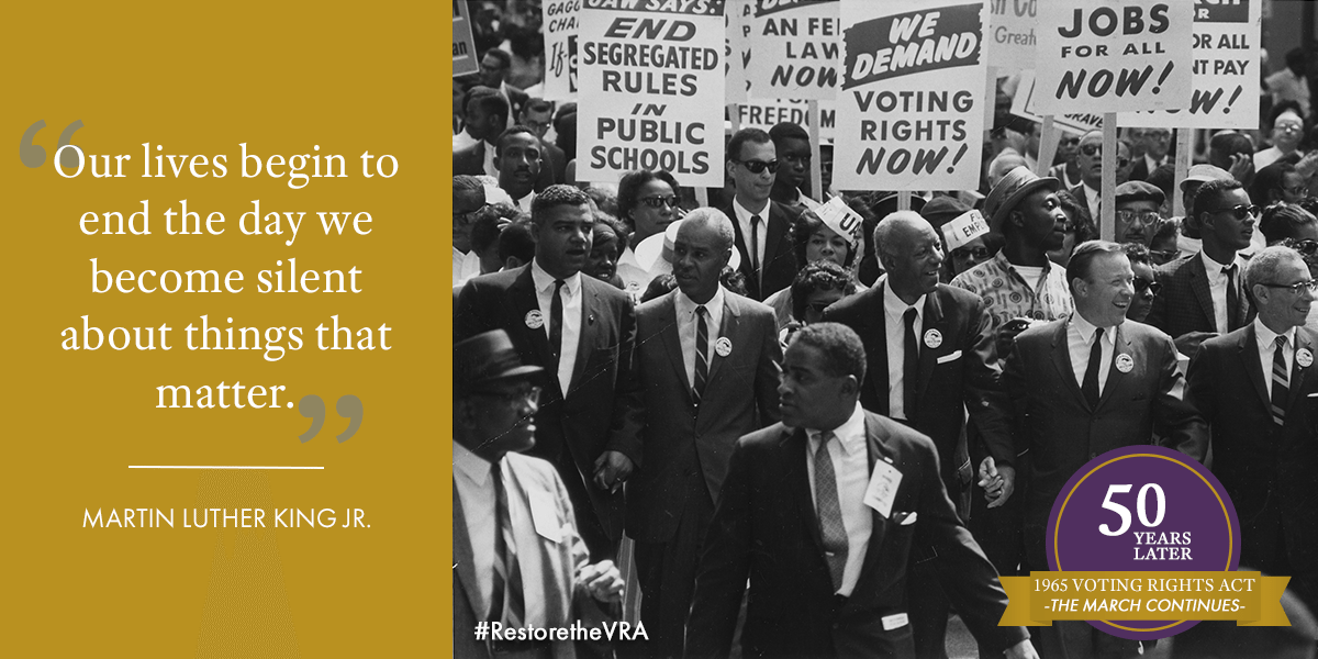 Restore the Voting Rights Act
