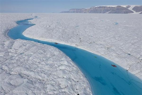 Data Collection on Petermann Glacier