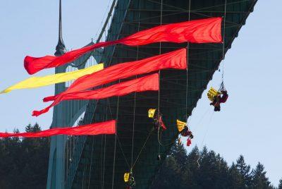 Shell Bridge Blockade Portland