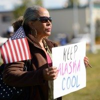 Shell Protest during President Obama's Alaska Visit
