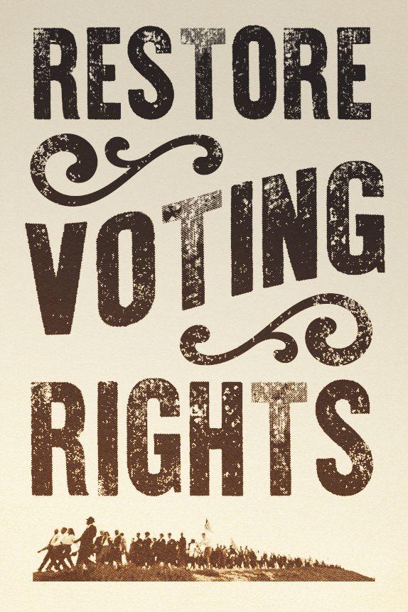 Restore the Right to Vote