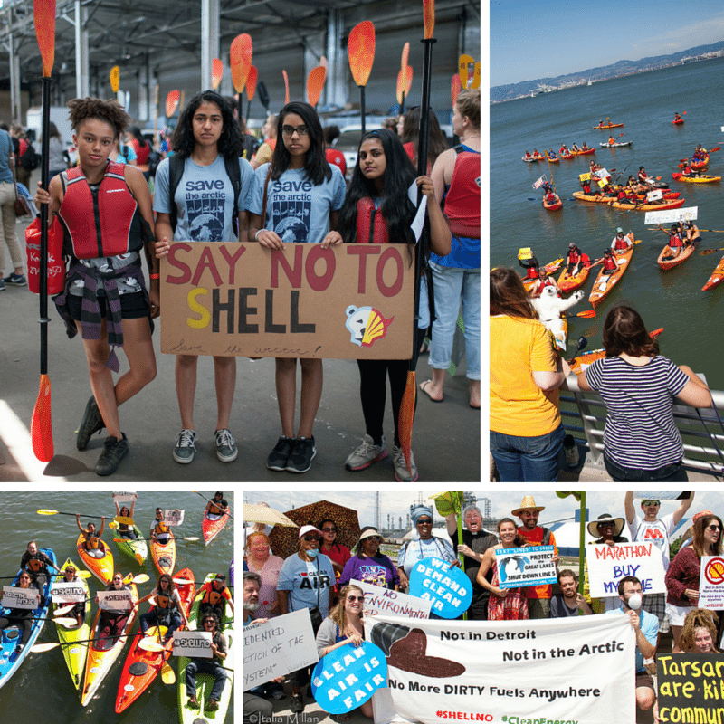 From Detroit—home to the most polluted zip code in Michigan—to San Francisco, to Alaska, in front of the White House, and a dozen other places in between, people across the country participated in the nationwide #ShellNo Day of Action this summer to send President Obama a clear message: Arctic oil drilling is not the answer to runaway climate change.