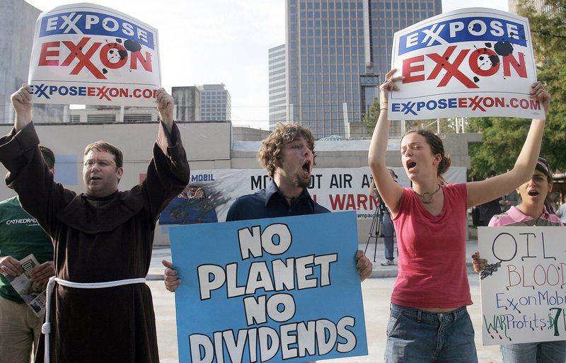 Exxpose Exxon Protest 2006