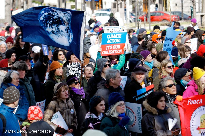 Forward on Climate Rally in Washington