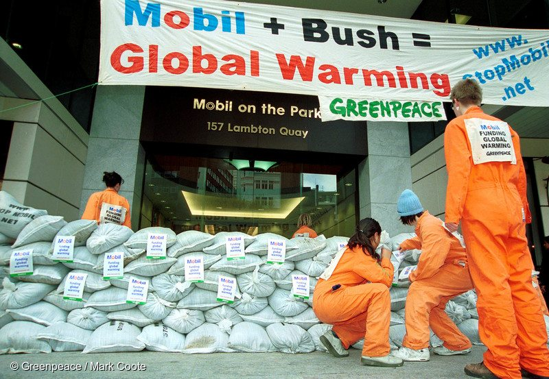 Sandbagging Action against Mobil in New Zealand