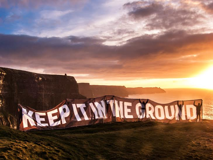 Image result for keep it in the ground
