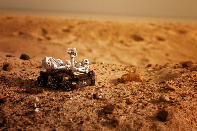 Mars, the Not-So-Red Planet