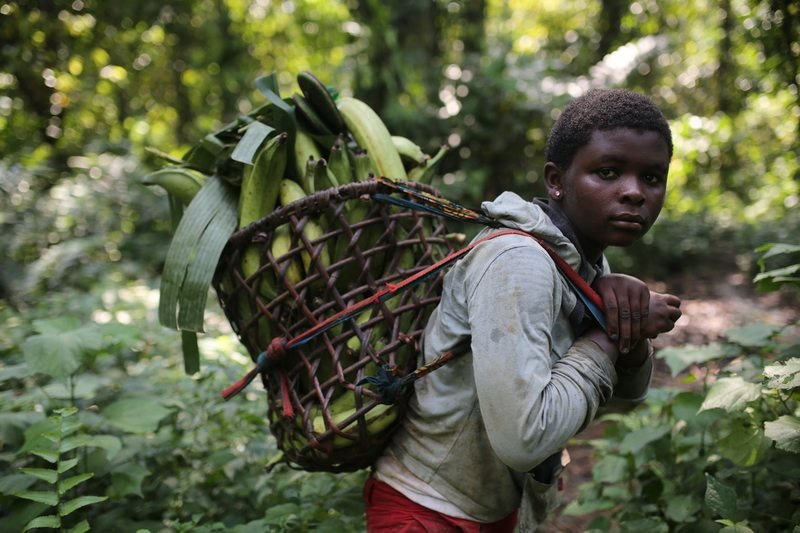 Local Girl in Cameroon
