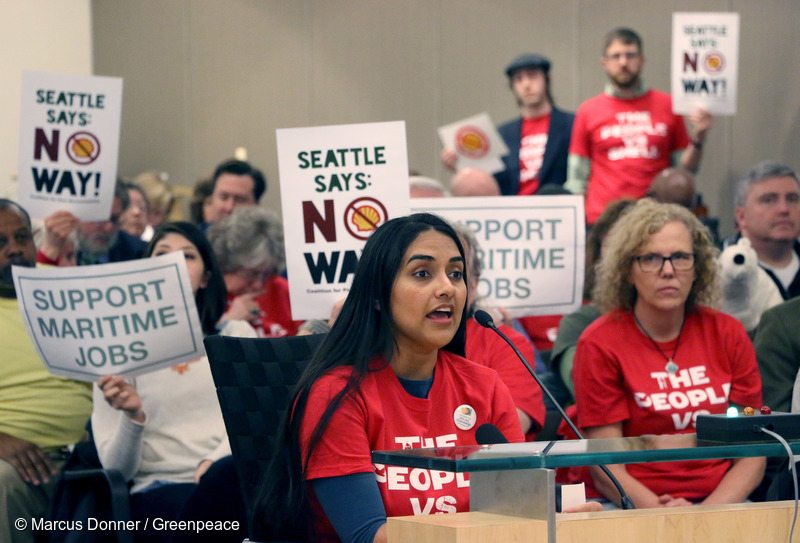 Seattle Port Lease Hearing