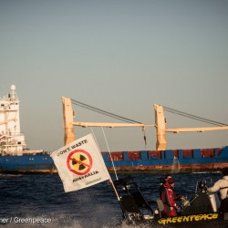 Ship Carrying Nuclear Waste Arrives in Australia