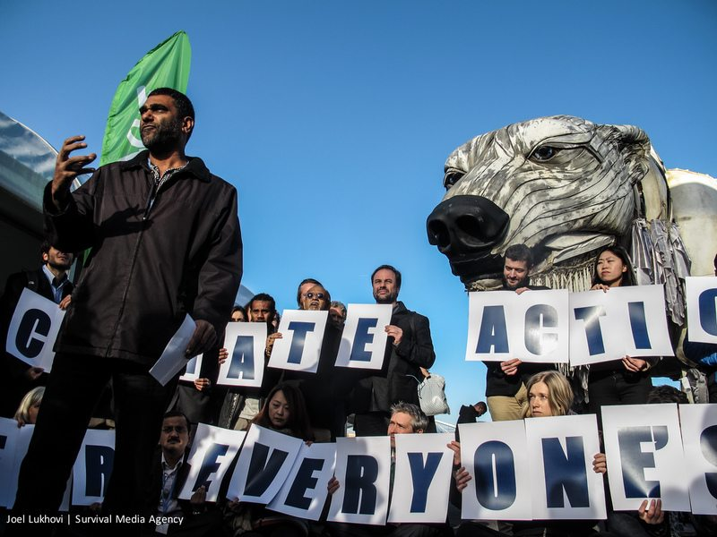 COP21: Climate Action and Indigenous Rights Demand in Paris