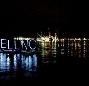#ShellNo At Night