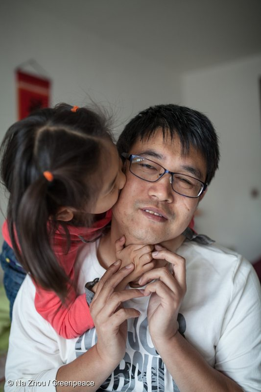 Tianjin Residents after Chemical Explosion in China