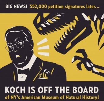 David Koch Off American Natural History Museum Board