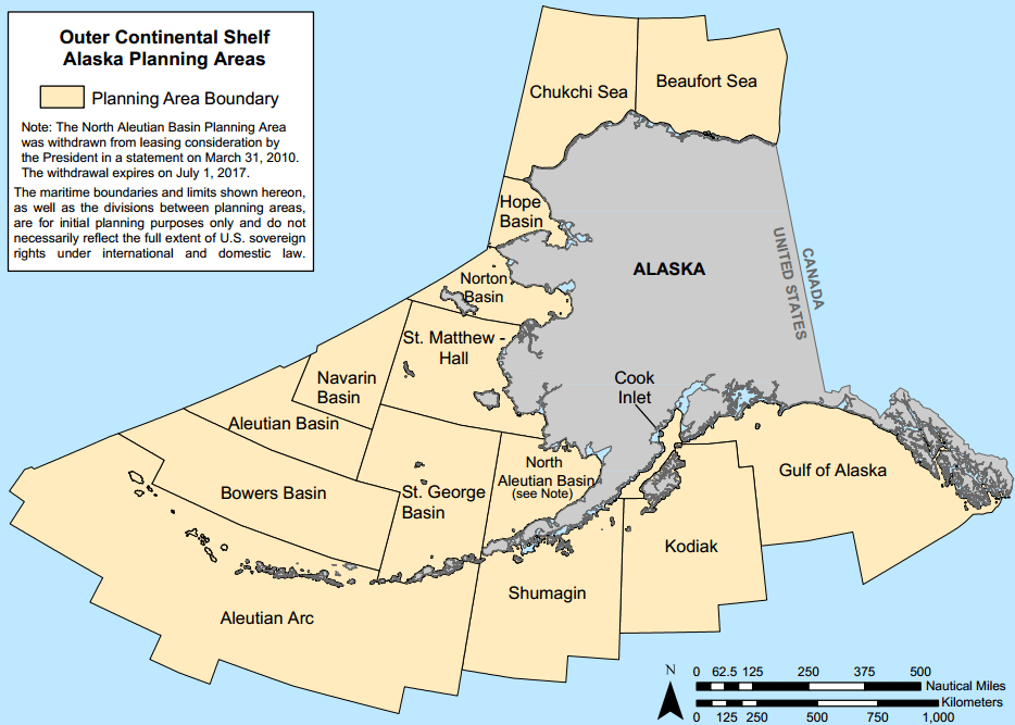 Arctic Outer Continental Shelf