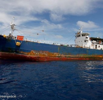 Illegal Tuna Transshipment in Palau