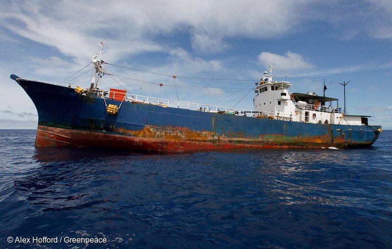 Illegal Tuna Transshipment in Palau