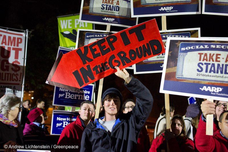 Democratic Debate Protest