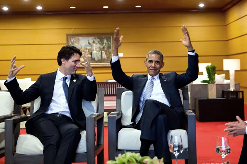 Obama and Trudeau Meet on Climate