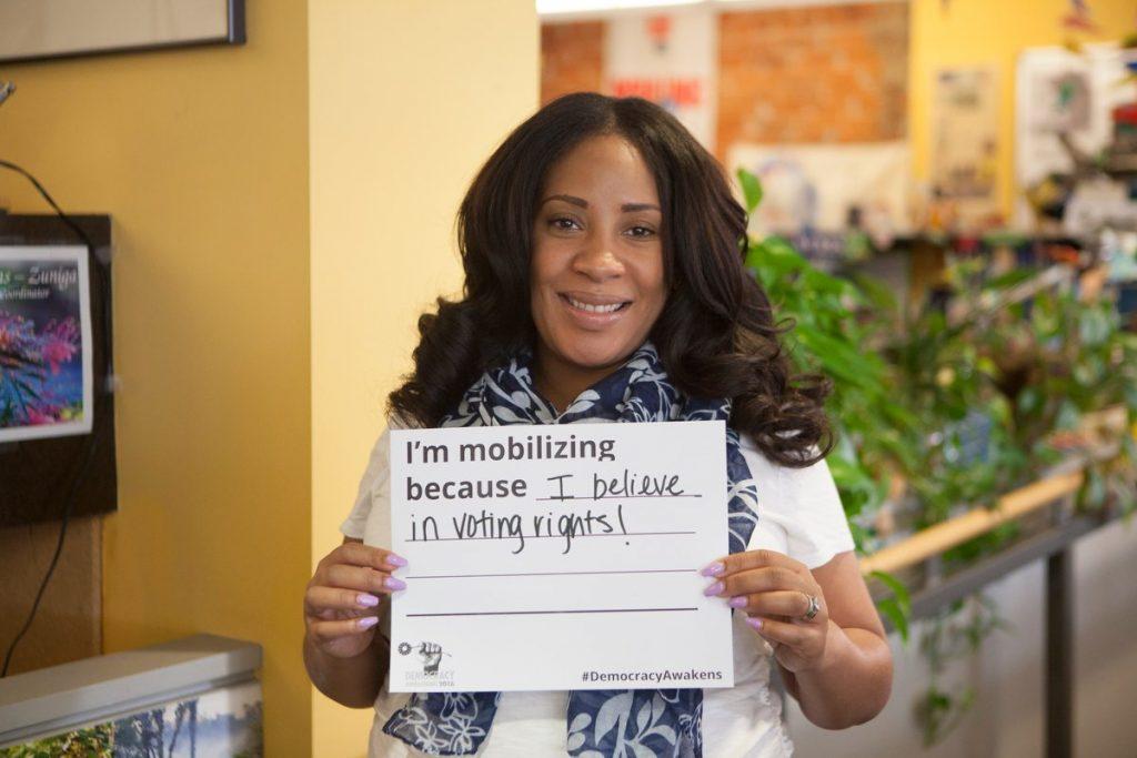 Ebony for Democracy Awakening