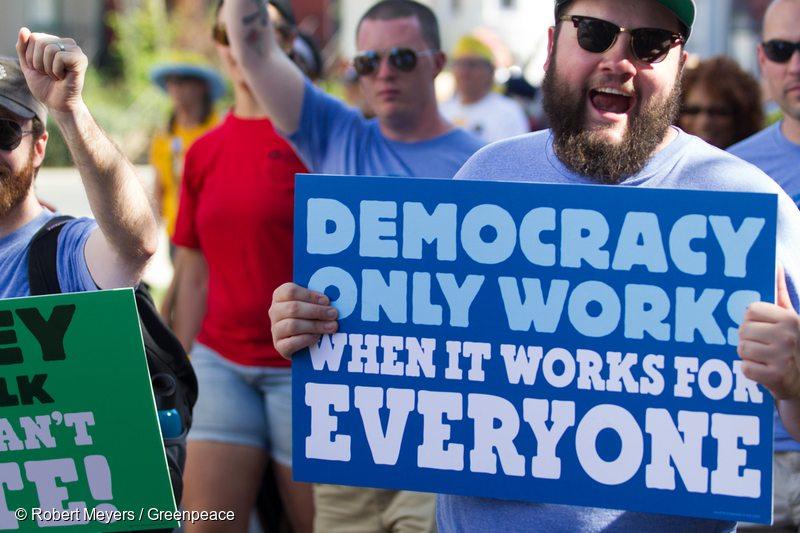 Democracy Awakening Rally in Washington D.C.