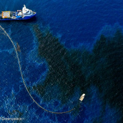 Shell Oil Spill in the Gulf of Mexico