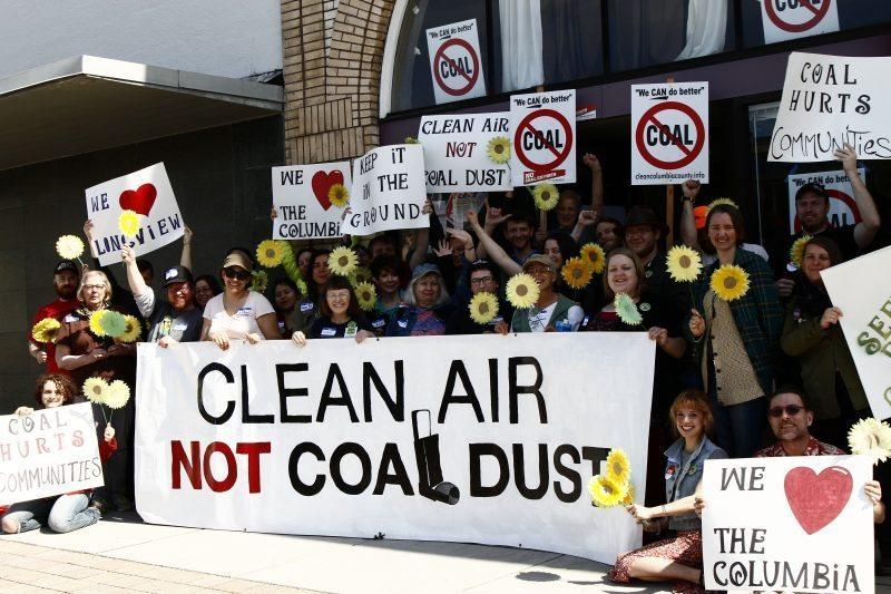 Clean Air Not Coal Dust
