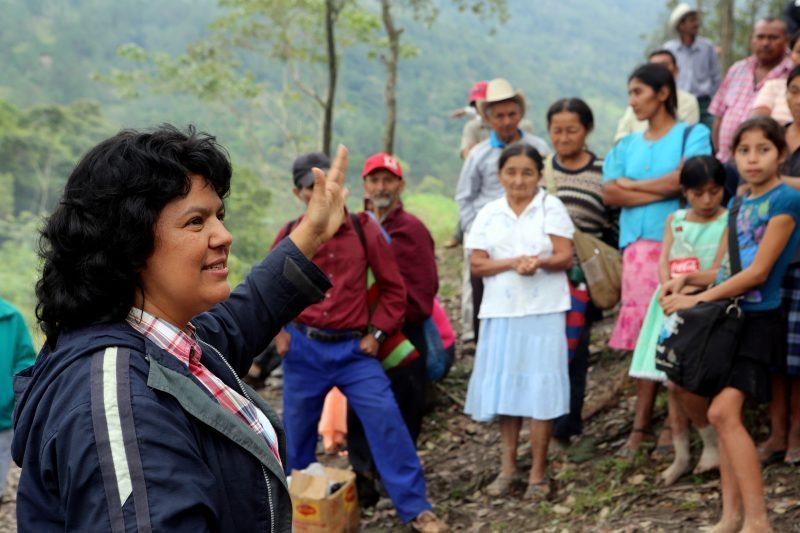 Berta Cáceres 2015 Goldman Environmental Award Recipient
