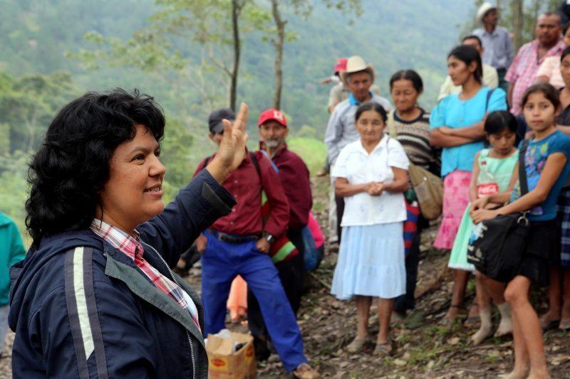 Berta Cáceres 2015 Goldman Environmental Award Recipient