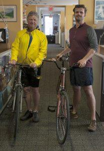 Bob Meyers and Kris Wright