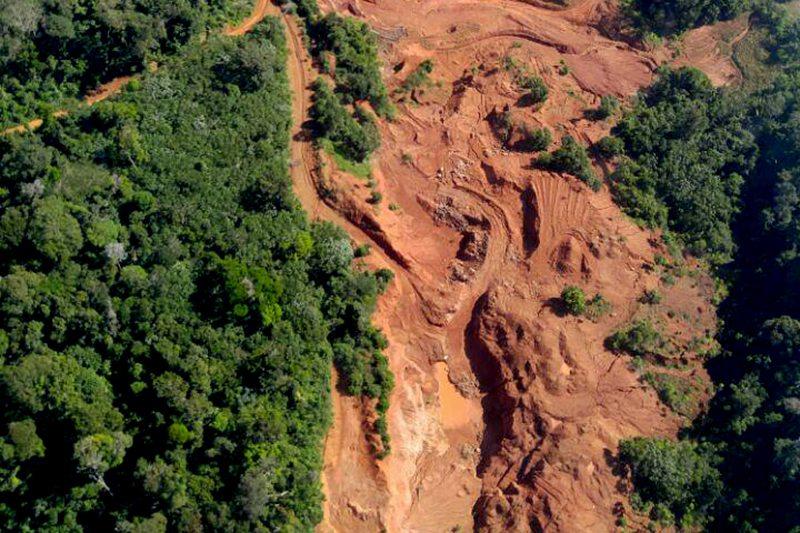 Mining in the Tapajos Region