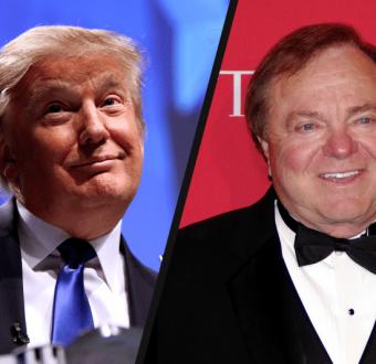 Donald Trump and Harold Hamm