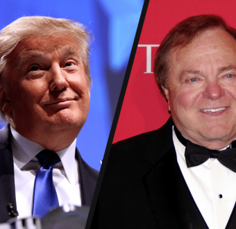 Donald Trump and Harold Hamm