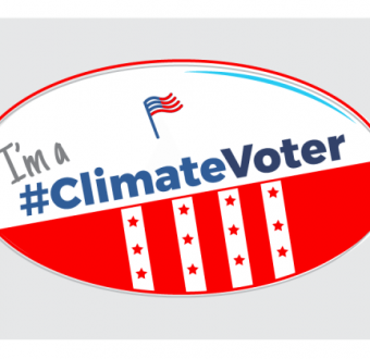 I'm a Climate Voter