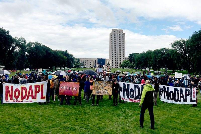 Dakota Access Pipeline Resistance