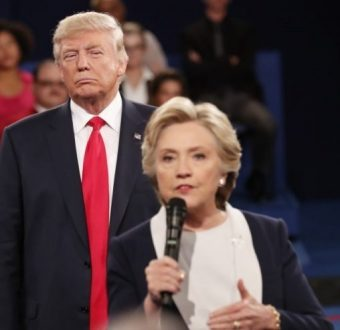 Trump-Clinton looming