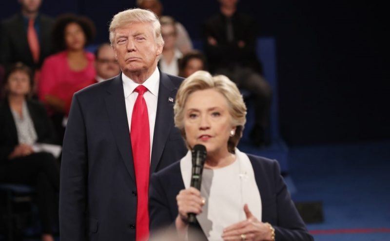 Trump-Clinton looming