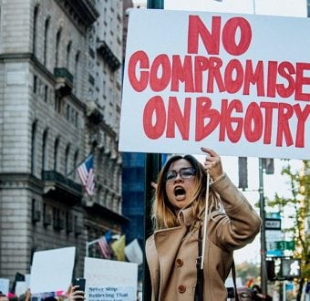 Anti-Trump rally in Manhattan